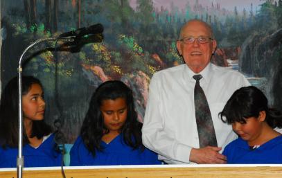 Pastor Hearley Roscher